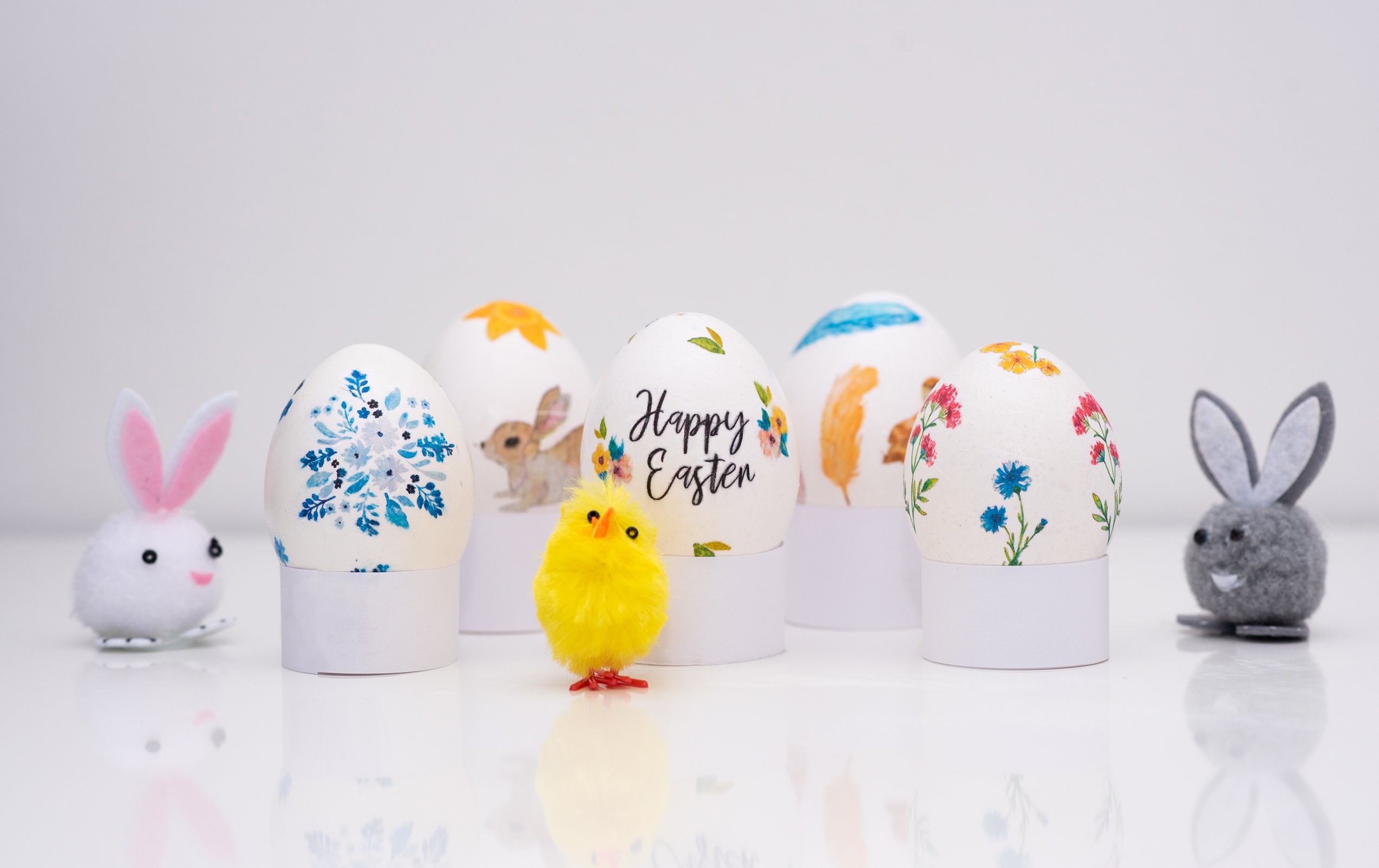 Easter Eggs decoupage